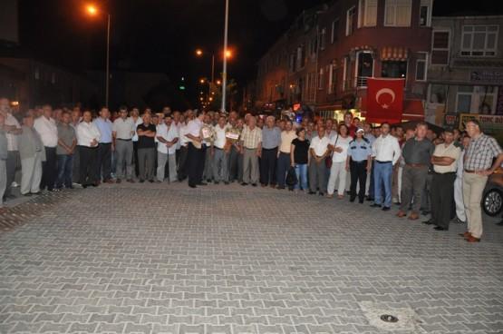 Sinop Valisi Kemal Cirit Gerze Ziyareti Demokrasi Mitingi 2016