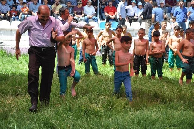 Dikmen 54. Yağlı Güreş ve  sırık kebabı festivali