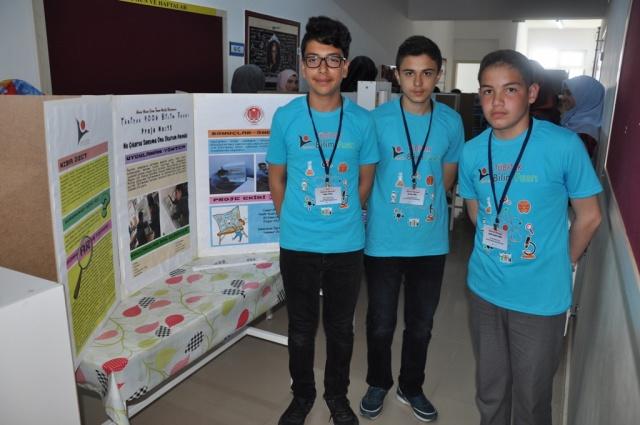 Yunus Emre İmam Hatip Ortaokulu TÜBİTAK Fuarı 2018