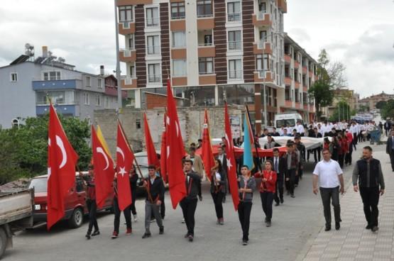 Gerze Gençlik Yürüyüşü 2017