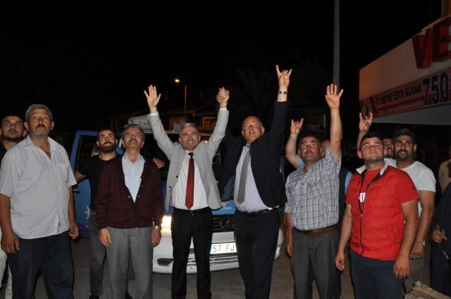 24 Haziran Seçimi Ak Parti MHP Kutlama
