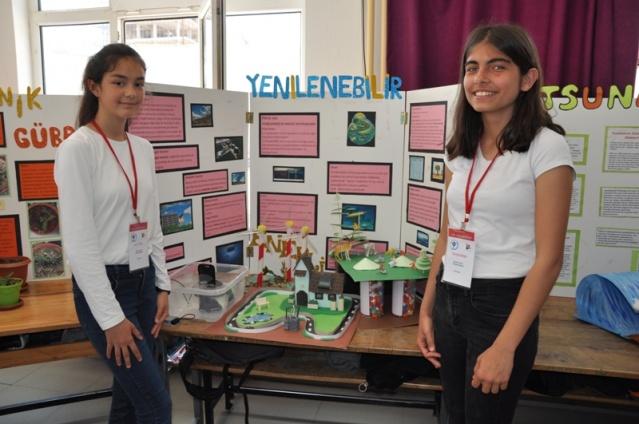 Atatürk Ortaokulu Tübitak Bilim Fuarı