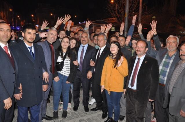 Mehmet Ersoy Gerze Ziyareti Mart 2019