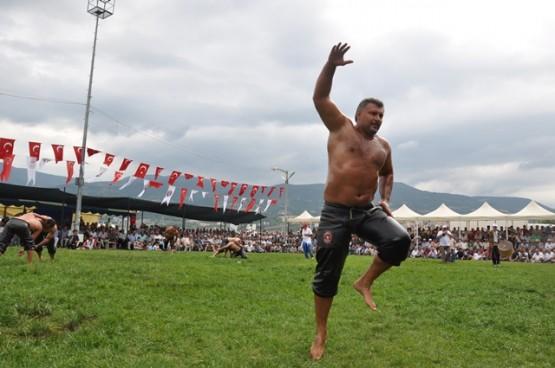2015 Gerze Yağlı Güreş Etkinliği