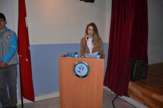 İstiklal Marşı'nın kabulü ve Mehmet Akif Ersoy'u anma programı Dikmen