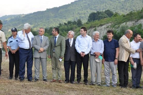Ömer Can Açıkgöz Hatıra Ormanı Açıldı