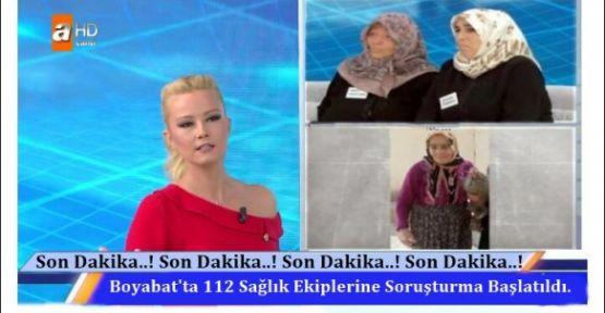 112 Acil Sağlık Ekiplerine Soruşturma Başlatıldı