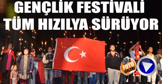 19 Mayıs Gençlik Festivali Tüm Hızıyla Sürüyor