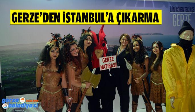 Gerze, İstanbul'a Çıkarma Yaptı