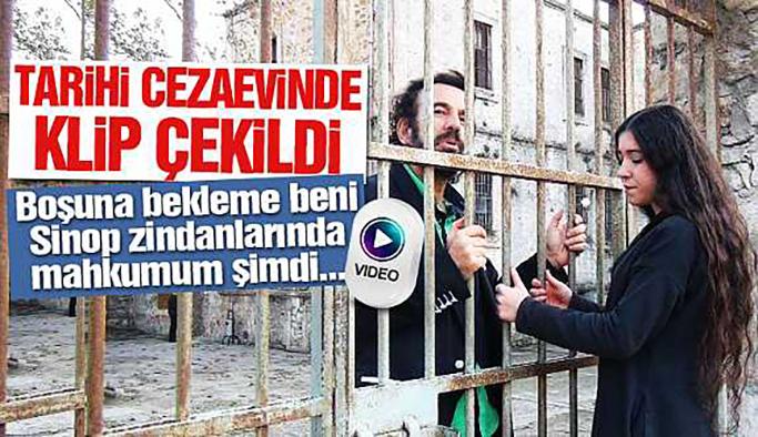 Sinop Cezaevi'nde Klip Çekildi