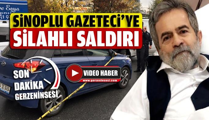 Sinoplu Gazeteci Silahlı Saldırıya Uğradı