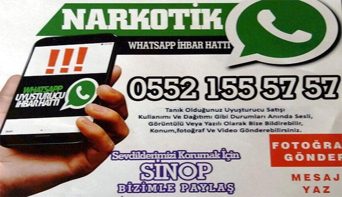 Narko-Mobil ihbar hattı kuruldu