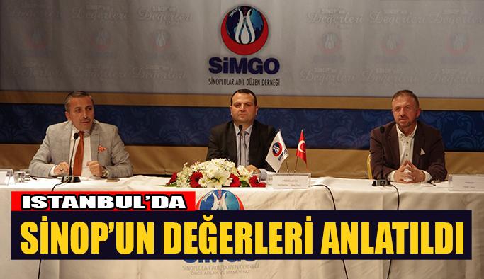 Sinop'un Değerleri Anlatıldı