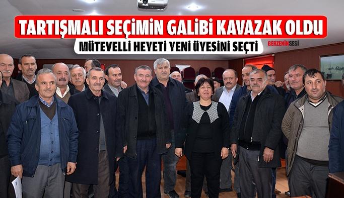 Tartışmalı Seçimi Kavazak Kazandı
