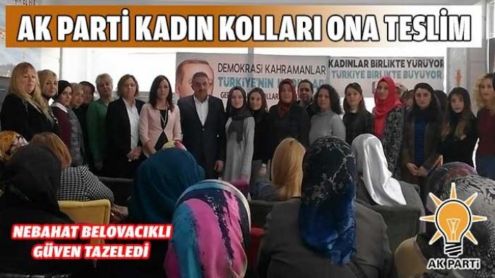 Ak Parti Kadın Kolları Seçimini Yaptı