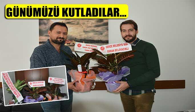 Karadeniz, Maviş ve Belovacıklı Gazeteciler Günümüzü Kutladı