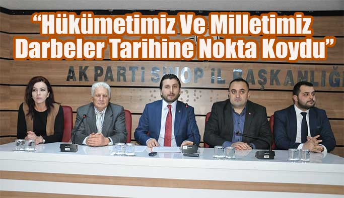 Ak Parti Sinop İl Başkanlığı'ndan 28 Şubat Açıklaması