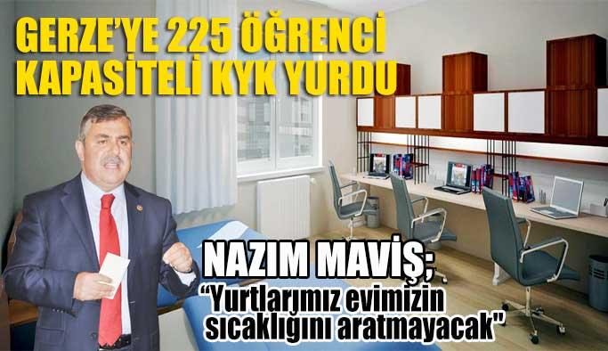 Gerze'ye 225 Öğrenci Kapasiteli KYK Yurdu