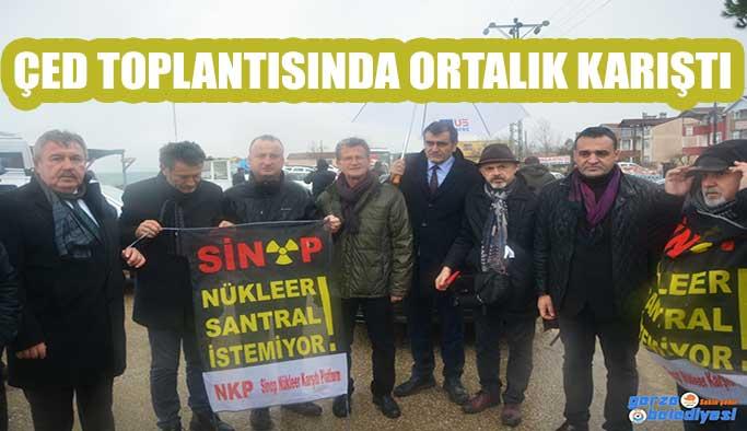 ÇED TOPLANTISINDA HAREKETLİ SAATLER