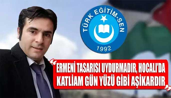 """TES Gerze Teşkilatı: """"Ermeni Tasarısı Uydurmadır"""""""