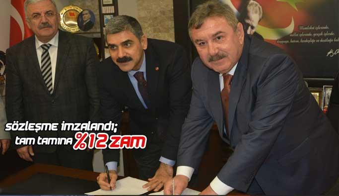 DİSK/Genel İş Sendikası Genel Başkanı Remzi ÇALIŞKAN Gerze'de