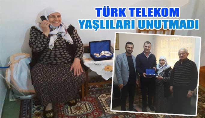Türk Telekom Yaşlıları Unutmadı