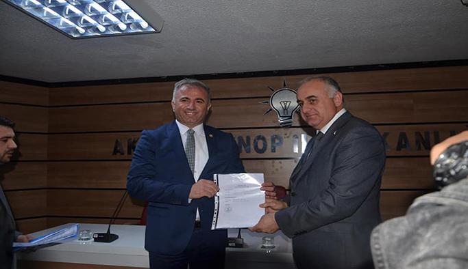Cengiz Tokmak adaylık başvurusunu yaptı