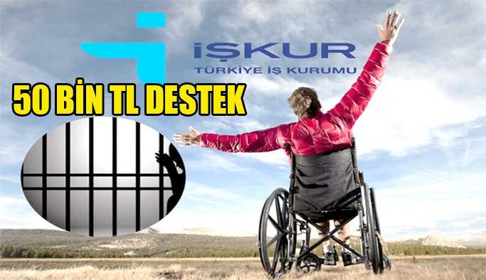 Engelli ve eski hükümlülere 50 Bin TL destek