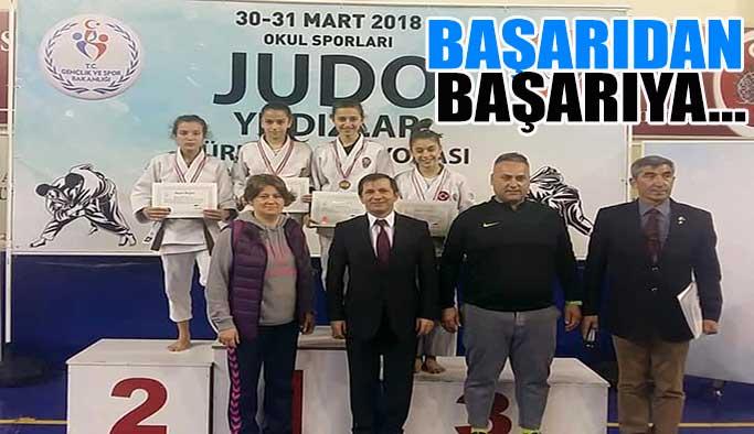 Gerzeli Judocular başarıdan başarıya koşuyor