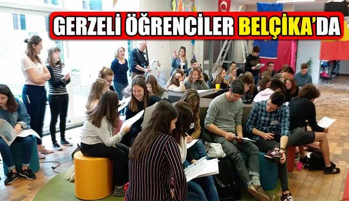 Gerzeli Öğrenciler Belçika'da