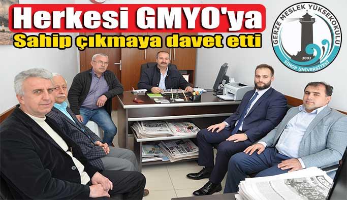 GMYO'dan Gazetemize Ziyaret