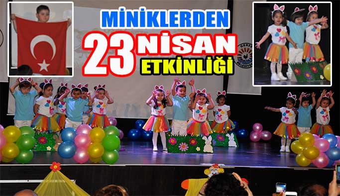 Gülücüğün minikleri 23 Nisan'ı kutladı