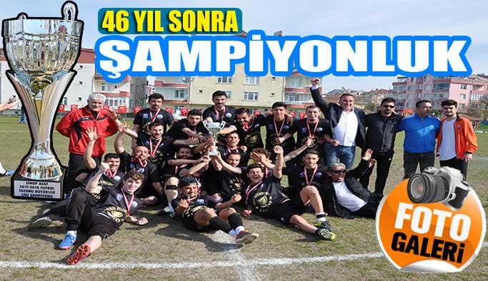 Şampiyon Gerze Belediye Spor