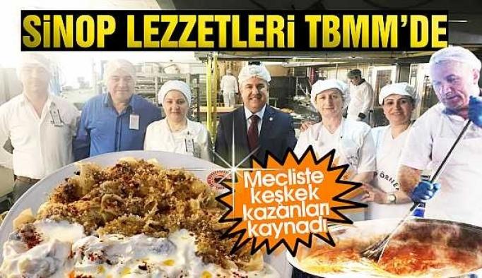 TBMM mutfağı Sinop yemekleriyle şenlendi