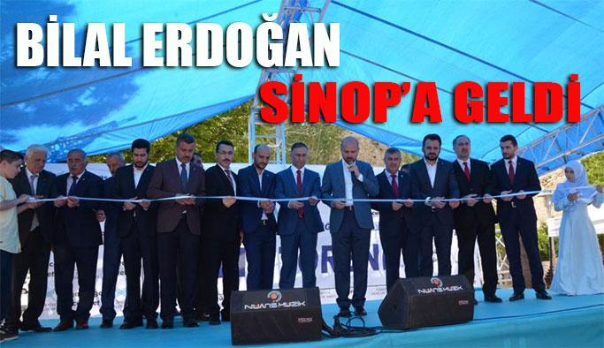 Bilal Erdoğan Sinop' a Geldi