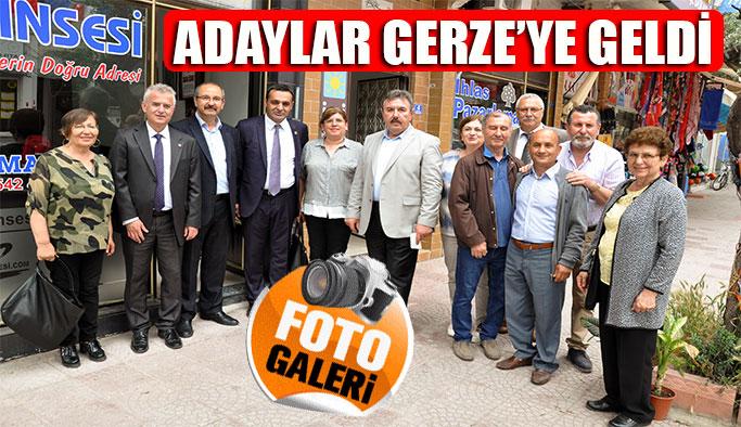 CHP Adayları Gerze'ye Geldi