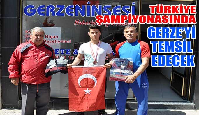 Gerzeli Güreşçi Türkiye Şampiyonasında