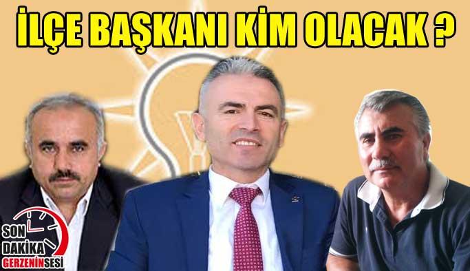 İlçe Başkanlığı İçin Ankara'dalar
