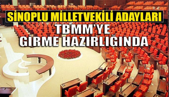 Sinop Milletvekili Adayları Listelerde