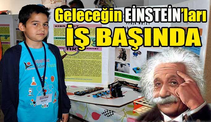 Tübitak Bilim Fuarları devam ediyor