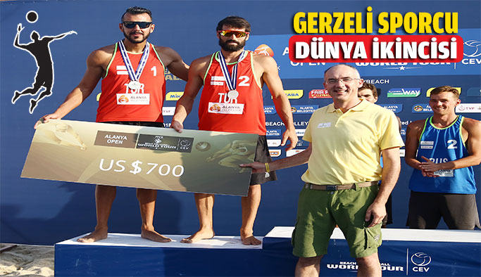 Gerzeli Milli Sporcumuz Dünya ikincisi oldu