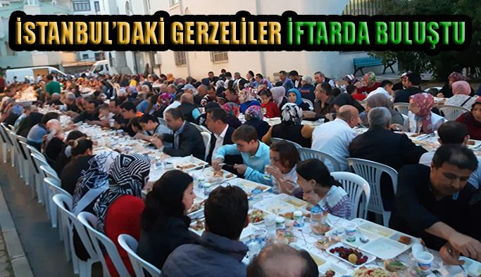 İstanbul'daki Gerzeliler İftarda Buluştu