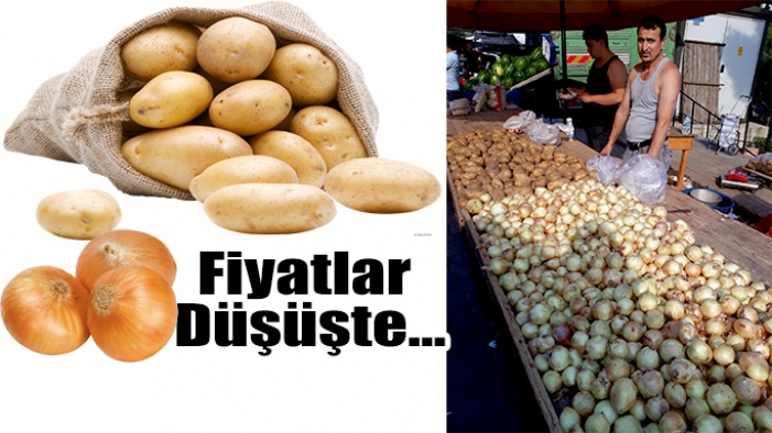 Nihayet Patates ve Soğan Düşüşe Geçti