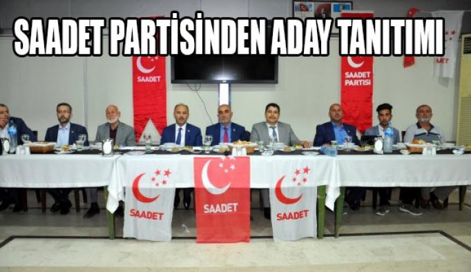 Saadet, adaylarını tanıttı