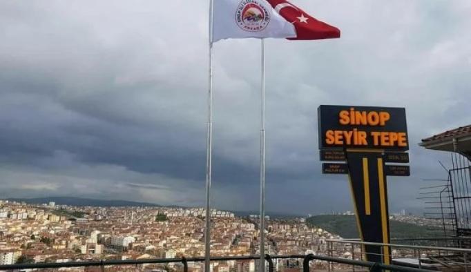 """ASİLDER, """"Sinop seyir tepe""""yi faaliyete açtı"""