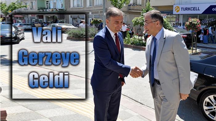 Sinop Valisi Gerze'ye geldi