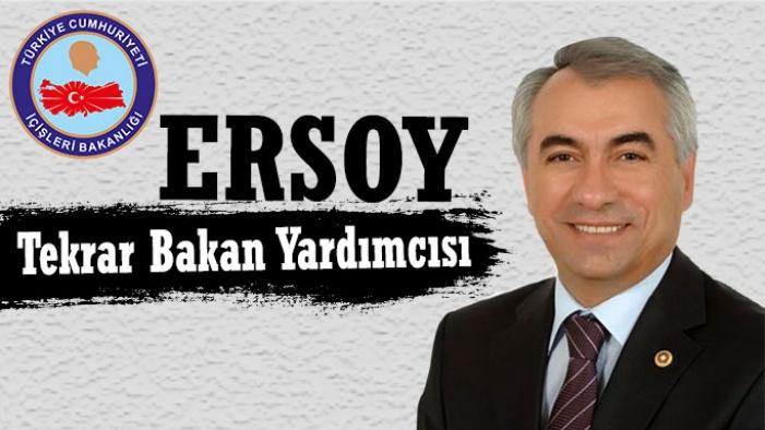 Mehmet Ersoy Tekrar İçişleri Bakan Yardımcısı