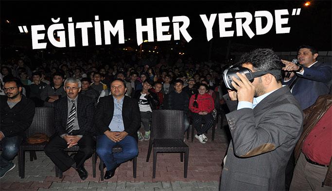 Atatürk Ortaokulu öğrencileri astronomik gözlem yaptı