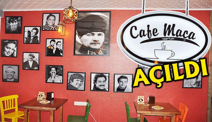 Gerze'ye nostaljik cafe...