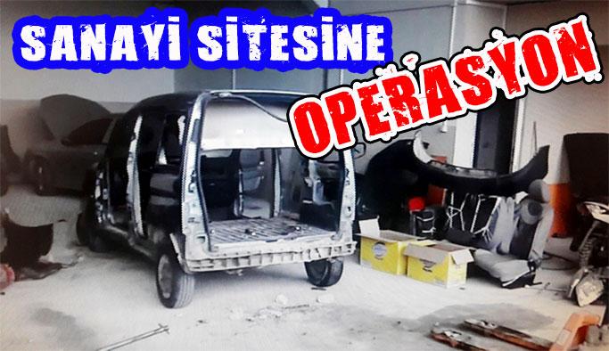Sinop Sanayi Sitesine Operasyon
